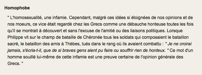 Fabulous C'est qui Voltaire ? | Homophobe ? NH43